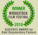 Winner Woodstock Film Festival, Audience Award
